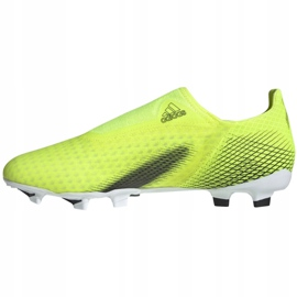 Buty piłkarskie adidas X Ghosted.3 Ll Fg M FW6969 żółte wielokolorowe 6