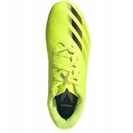 Buty piłkarskie adidas X Ghosted.4 FxG Jr FW6933 żółte wielokolorowe 2