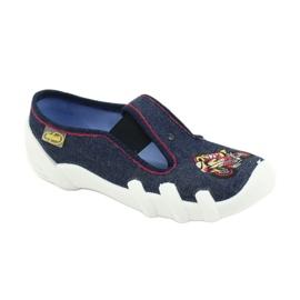 Befado obuwie dziecięce 290Y212 granatowe 1