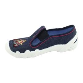 Befado obuwie dziecięce 290Y212 granatowe 2