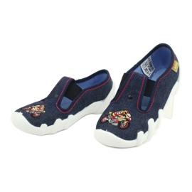 Befado obuwie dziecięce 290Y212 granatowe 3