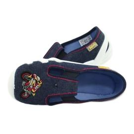 Befado obuwie dziecięce 290Y212 granatowe 5
