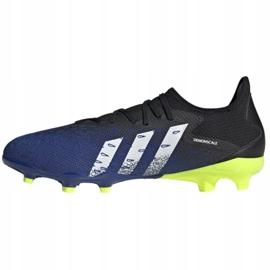 Buty piłkarskie adidas Predator Freak.3 L Fg M FY0615 czarne biały, czarny, royal 1