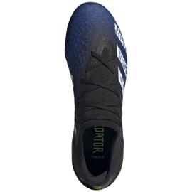 Buty piłkarskie adidas Predator Freak.3 L Fg M FY0615 czarne biały, czarny, royal 2