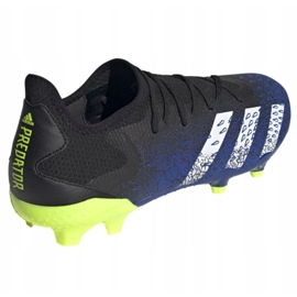 Buty piłkarskie adidas Predator Freak.3 L Fg M FY0615 czarne biały, czarny, royal 3