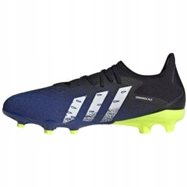 Buty piłkarskie adidas Predator Freak.3 L Fg M FY0615 czarne biały, czarny, royal 5