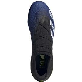Buty piłkarskie adidas Predator Freak.3 L Fg M FY0615 czarne biały, czarny, royal 6