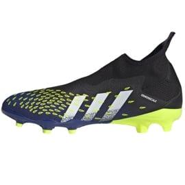 Buty piłkarskie adidas Predator Freak.3 Ll Fg M FY0617 czarne biały, czarny, royal 1