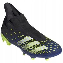 Buty piłkarskie adidas Predator Freak.3 Ll Fg M FY0617 czarne biały, czarny, royal 3