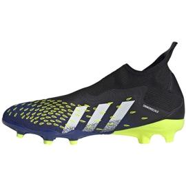 Buty piłkarskie adidas Predator Freak.3 Ll Fg M FY0617 czarne biały, czarny, royal 5