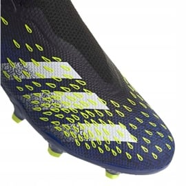 Buty piłkarskie adidas Predator Freak.3 Ll Fg M FY0617 czarne biały, czarny, royal 8