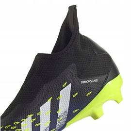 Buty piłkarskie adidas Predator Freak.3 Ll Fg M FY0617 czarne biały, czarny, royal 9