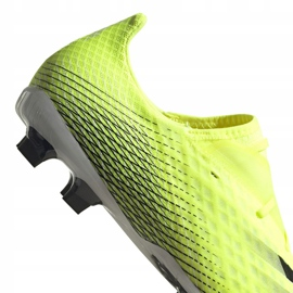 Buty piłkarskie adidas X Ghosted.2 Fg M FW6958 zielone biały, żółto-zielony neon 7