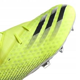 Buty piłkarskie adidas X Ghosted.2 Fg M FW6958 zielone biały, żółto-zielony neon 8