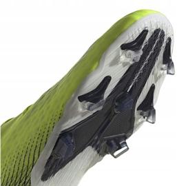 Buty piłkarskie adidas X Ghosted.2 Fg M FW6958 zielone biały, żółto-zielony neon 9