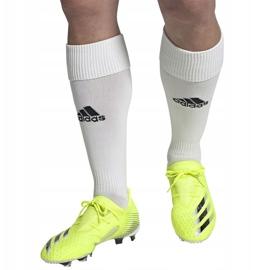 Buty piłkarskie adidas X Ghosted.2 Fg M FW6958 zielone biały, żółto-zielony neon 10