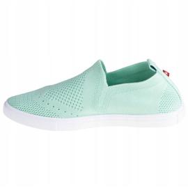 Buty Big Star Shoes W FF274A604 białe zielone 1