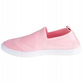 Buty Big Star Shoes W FF274A606 białe różowe 1