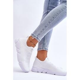 Damskie Sportowe Buty Slip-on Big Star DD274460 Białe 3