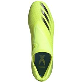 Buty piłkarskie adidas X Ghosted.3 Ll Fg żółto-czarne FW6969 żółte żółte 1