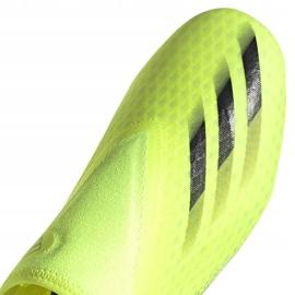 Buty piłkarskie adidas X Ghosted.3 Ll Fg żółto-czarne FW6969 żółte żółte 3