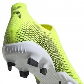 Buty piłkarskie adidas X Ghosted.3 Ll Fg żółto-czarne FW6969 żółte żółte 4