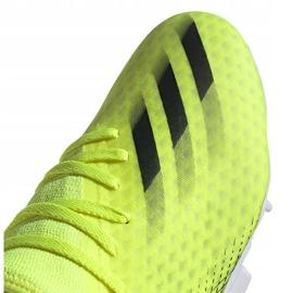 Buty piłkarskie adidas X Ghosted.3 Fg żółto-czarne FW6948 żółte żółte 3