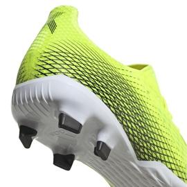 Buty piłkarskie adidas X Ghosted.3 Fg żółto-czarne FW6948 żółte żółte 4