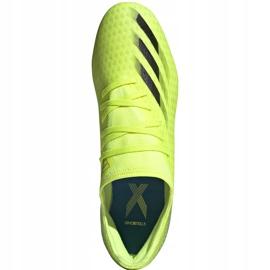 Buty piłkarskie adidas X Ghosted.3 Fg żółto-czarne FW6948 żółte żółte 1