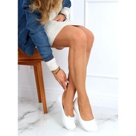 Baleriny damskie białe YSD826 White 2