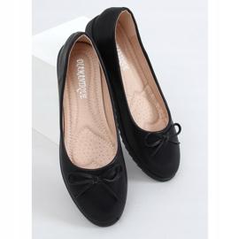 Baleriny damskie czarne YSD826 Black 3