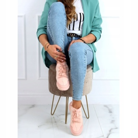 Buty sportowe różowe LA126P Pink 3