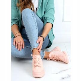 Buty sportowe różowe LA126P Pink 1