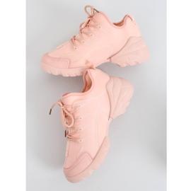 Buty sportowe różowe LA126P Pink 4