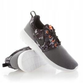Buty Nike Roshe One Print Jr 677782-004 białe 1