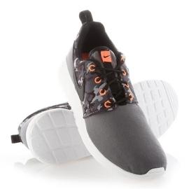 Buty Nike Roshe One Print Jr 677782-004 białe 2