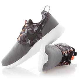 Buty Nike Roshe One Print Jr 677782-004 białe 4