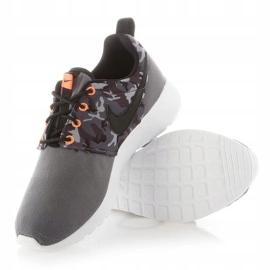 Buty Nike Roshe One Print Jr 677782-004 białe 5