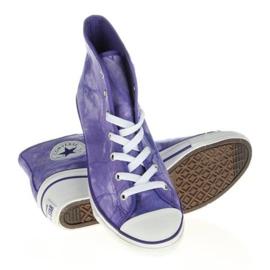 Trampki Converse Chuck Taylor Side W 542469F białe fioletowe 2