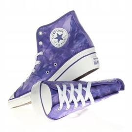 Trampki Converse Chuck Taylor Side W 542469F białe fioletowe 4