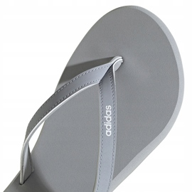 Klapki damskie adidas Eezay Flip Flop szaro-różowe FY8110 szare 4
