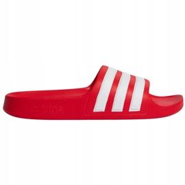 Klapki adidas Adilette Aqua FY8066 czerwone granatowe 1
