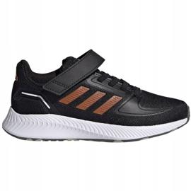 Buty adidas Runfalcon 2.0 Jr FZ0116 czarne 1