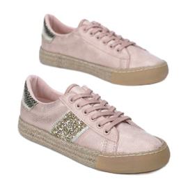 Vices 8392-20 Pink 36 41 różowe 1