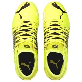 Buty piłkarskie Puma Future Z 4.1 Fg Ag Jr 106400 01 wielokolorowe żółte 1