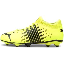 Buty piłkarskie Puma Future Z 4.1 Fg Ag Jr 106400 01 wielokolorowe żółte 2
