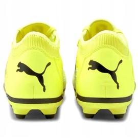 Buty piłkarskie Puma Future Z 4.1 Fg Ag Jr 106400 01 wielokolorowe żółte 4