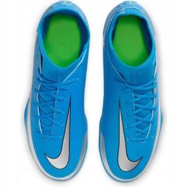 Buty piłkarskie Nike Phantom Gt Club Df FG/MG Jr CW6727-400 wielokolorowe niebieskie 1