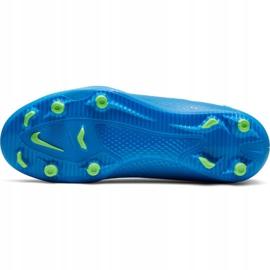 Buty piłkarskie Nike Phantom Gt Club Df FG/MG Jr CW6727-400 wielokolorowe niebieskie 5