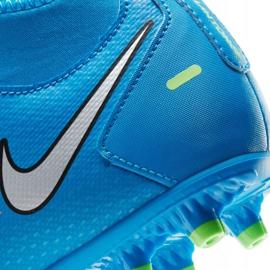 Buty piłkarskie Nike Phantom Gt Club Df FG/MG Jr CW6727-400 wielokolorowe niebieskie 7